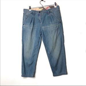Burberry Brit Wilmont crop denim pants 28 A5